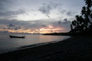 Twilight at Batang Dua Island